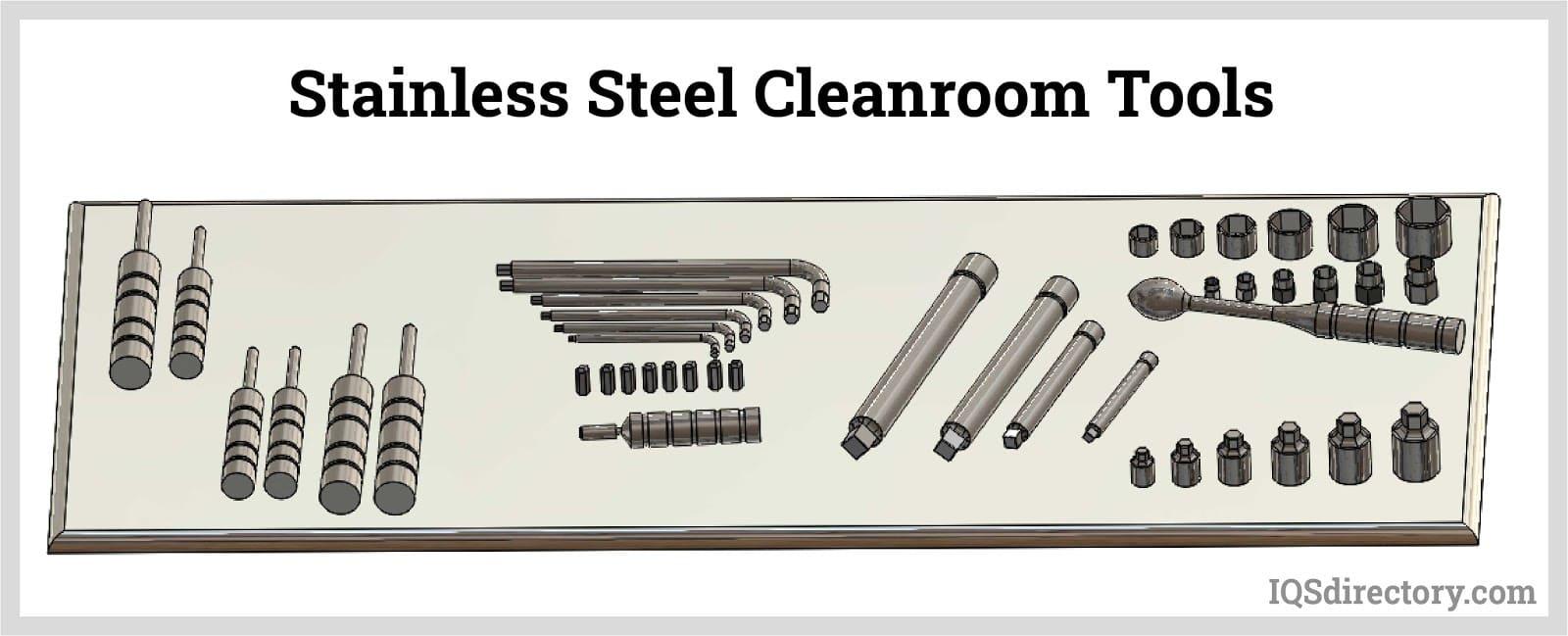Stainless Steel Cleanroom Tools