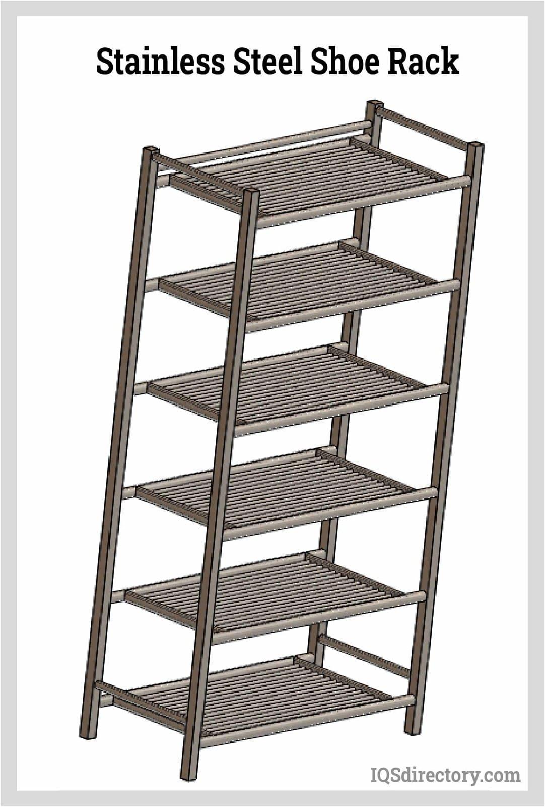 Stainless Steel Shoe Rack