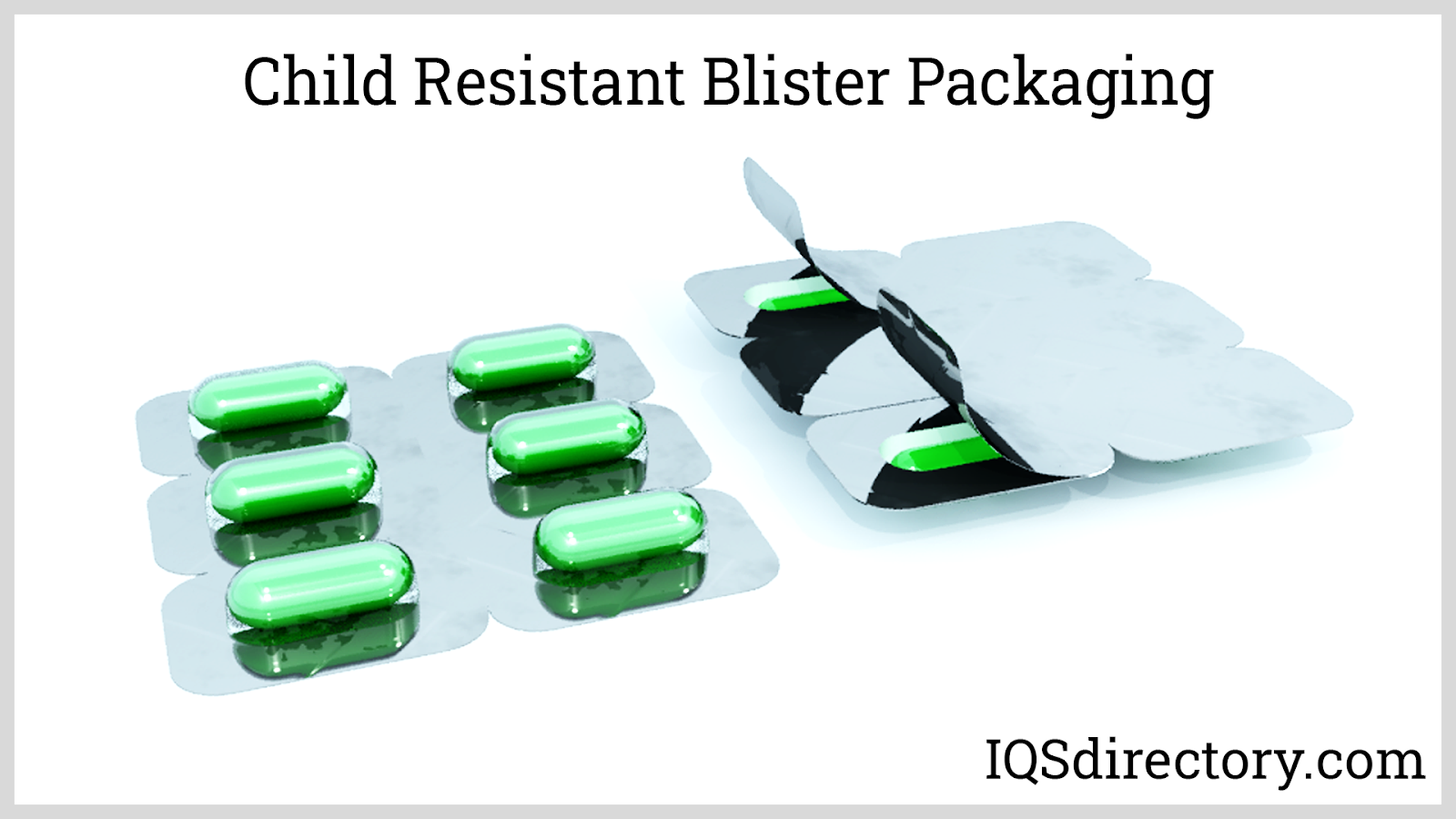 Child Resistant Blister Packaging