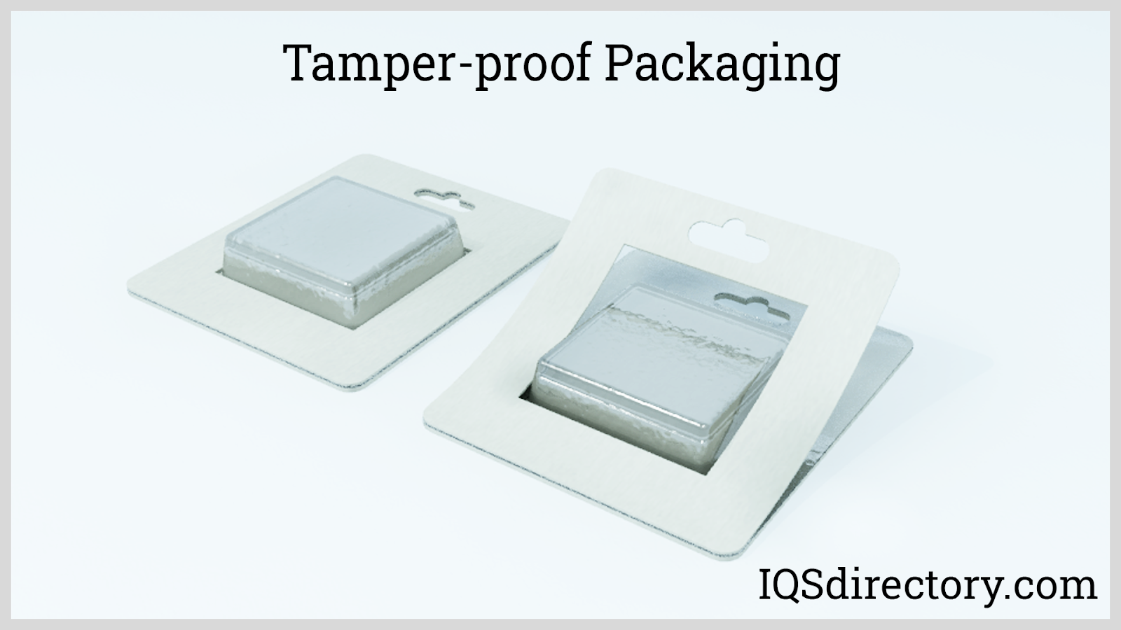 Tamper-Proof Packaging