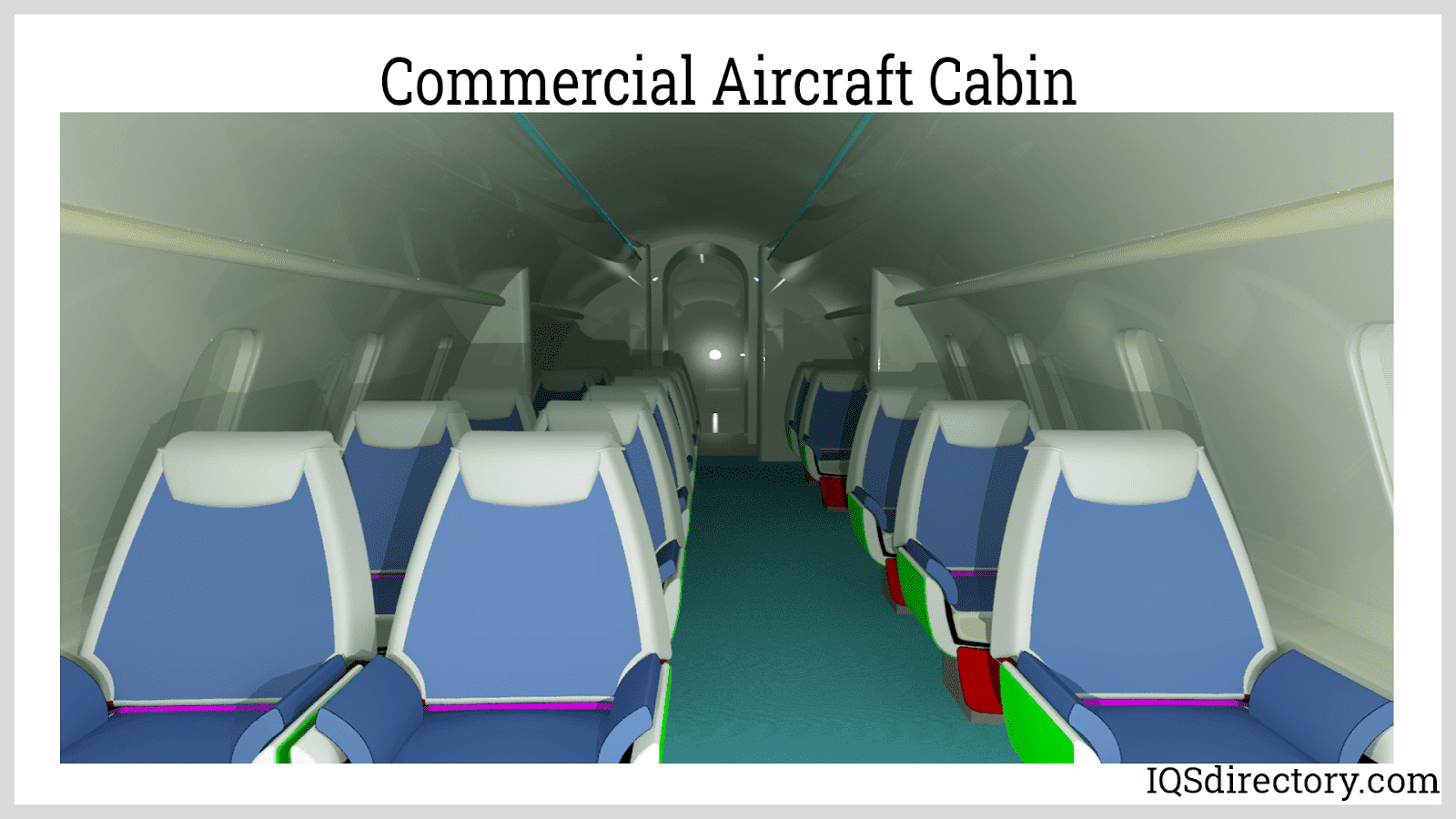 Commercial Aircraft Cabin