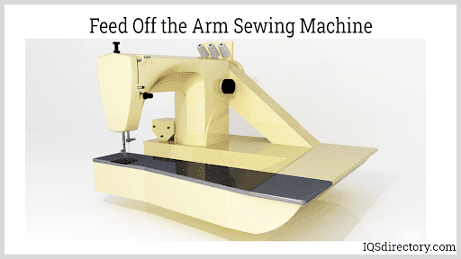 Feed Off the Arm Sewing Machine