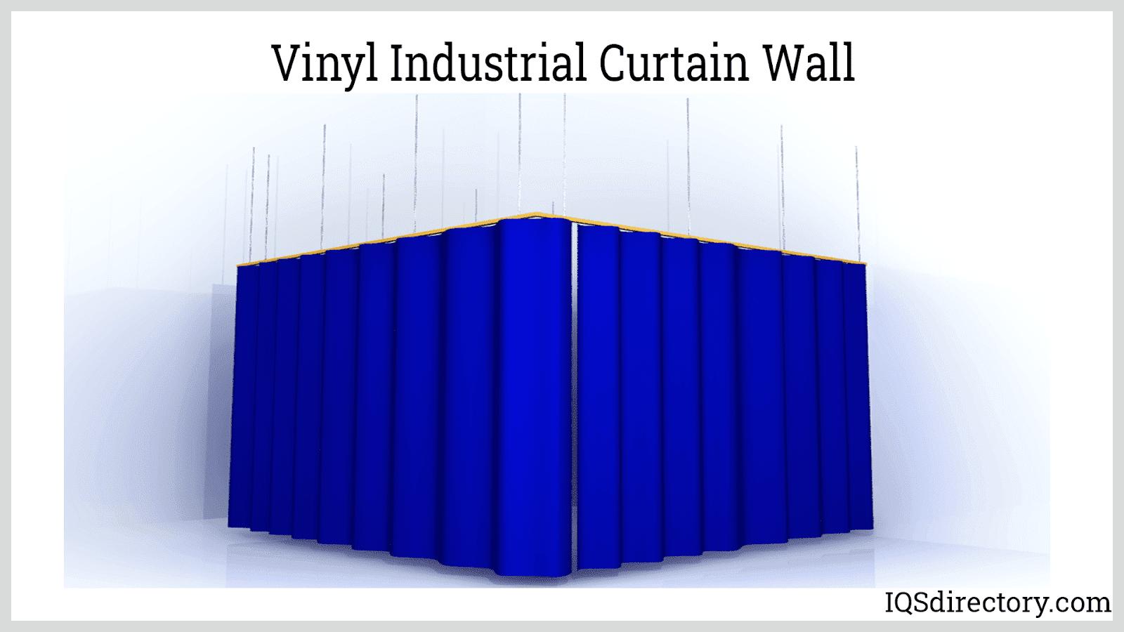 Vinyl Industrial Curtain Wall