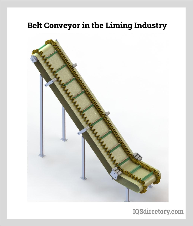 Belt Conveyor in the Liming Industry