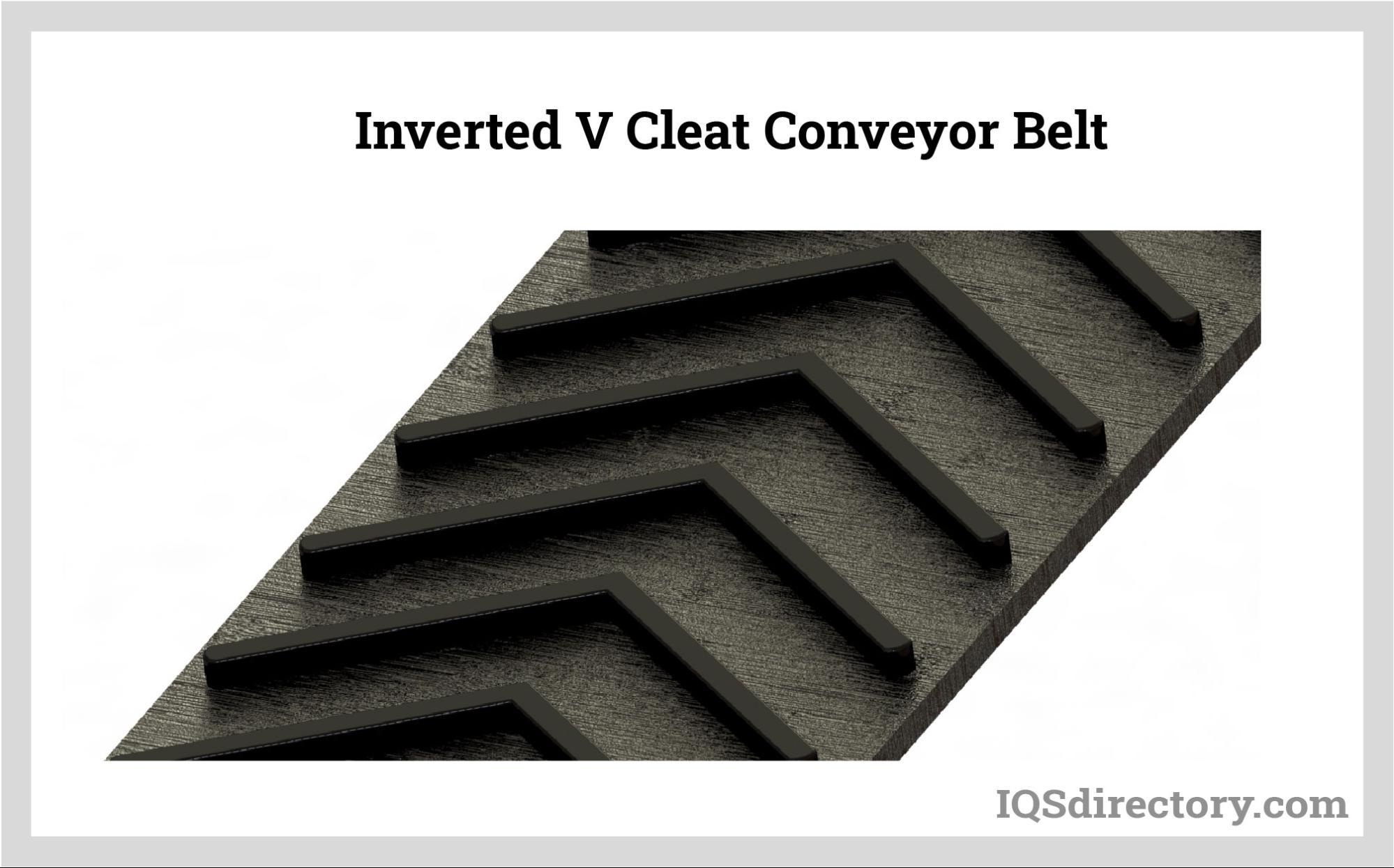 Inverted V Cleat Conveyor Belt