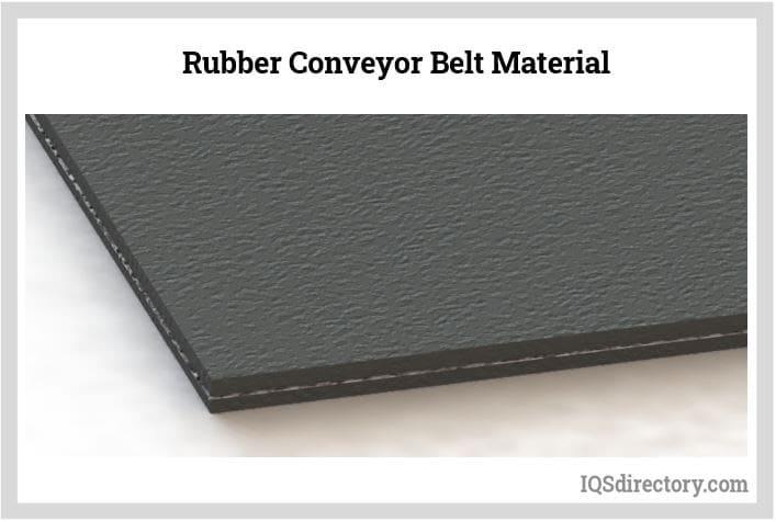 Rubber Conveyor Belt Material