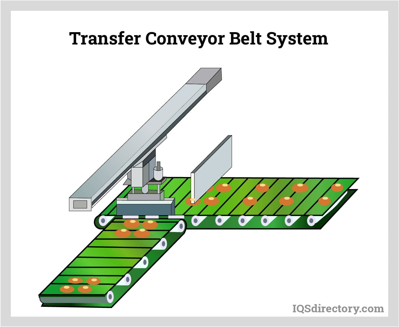 Transfer Conveyor Belt System