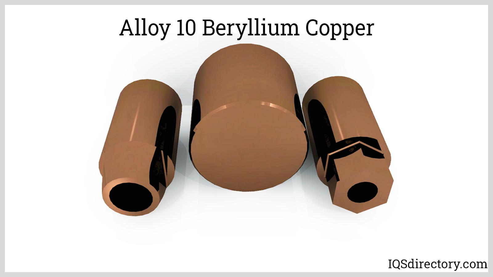 Alloy 10 Beryllium Copper