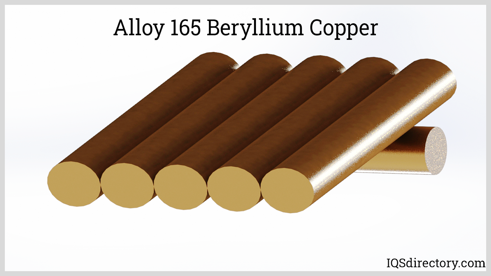Alloy 165 Beryllium Copper