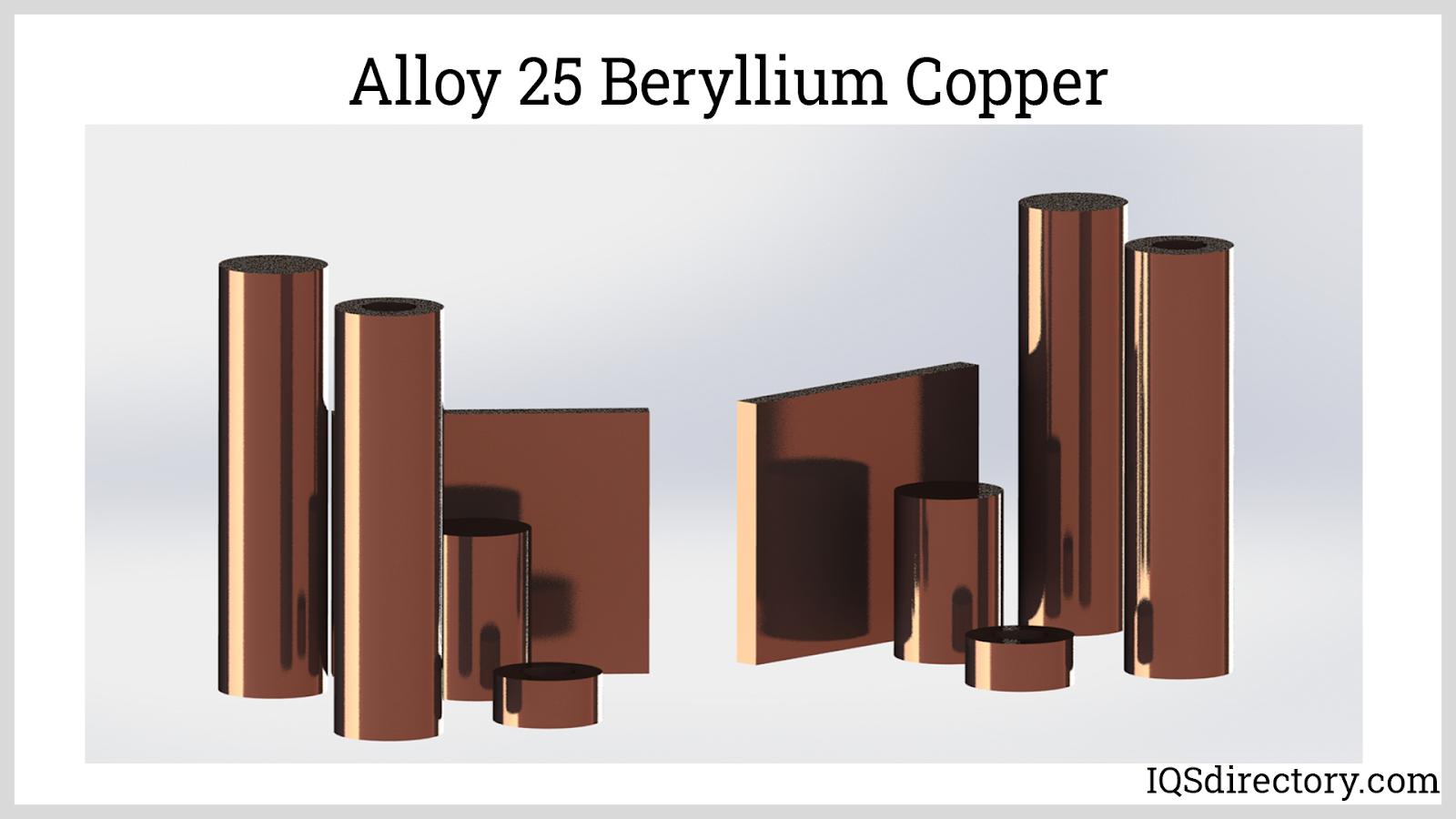 Alloy 25 Beryllium Copper