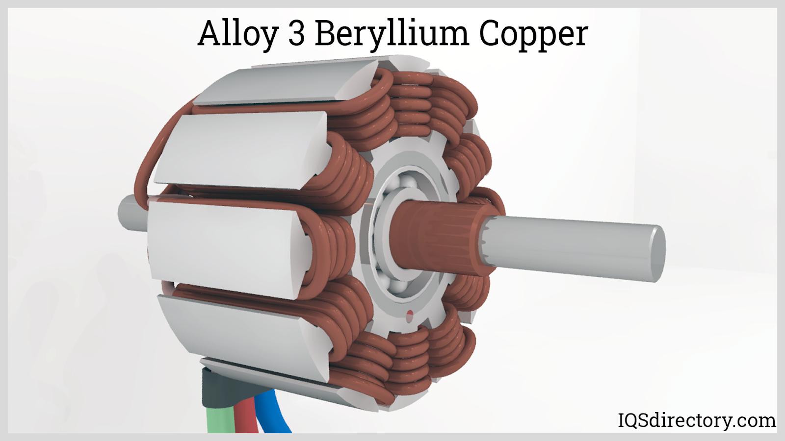 Alloy 3 Beryllium Copper