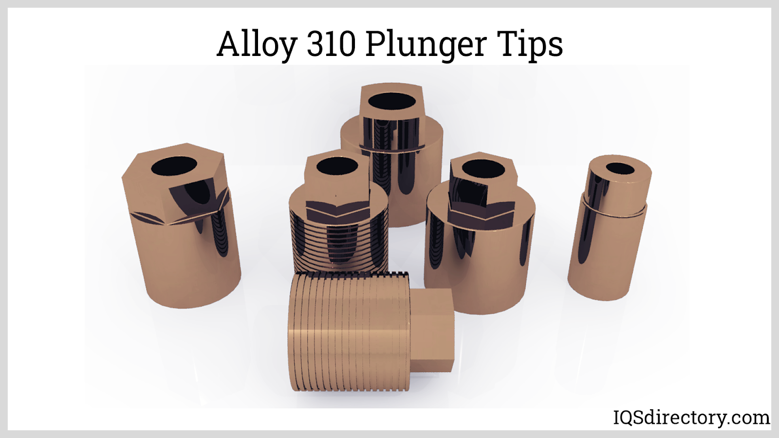 Alloy 310 Plunger Tips