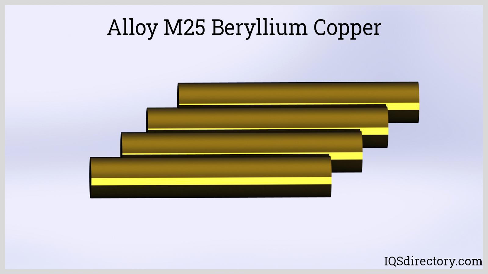 Alloy M25 Beryllium Copper