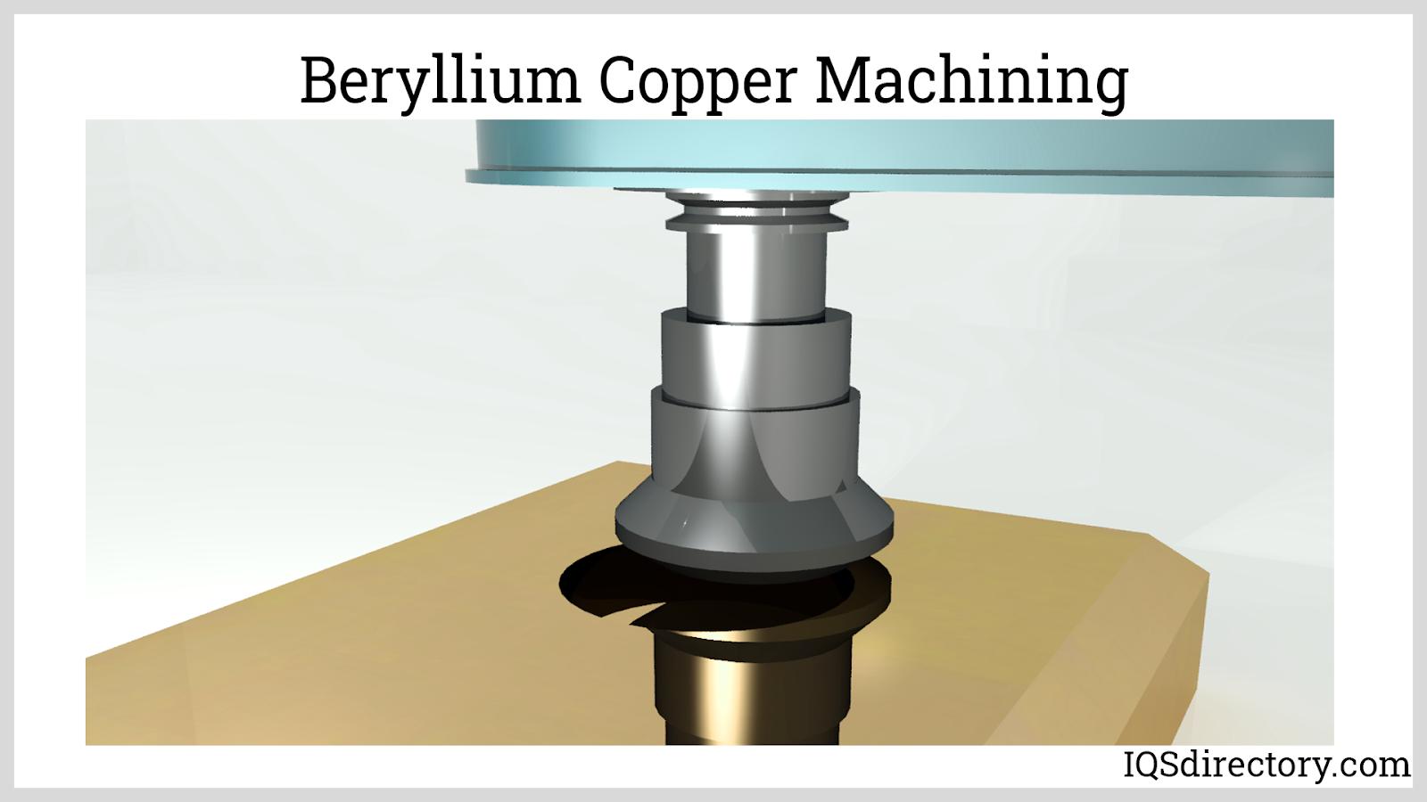 Beryllium Copper Machining