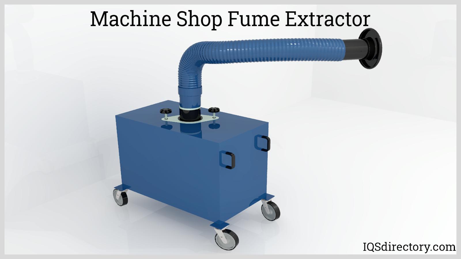 Machine Shop Fume Extractor