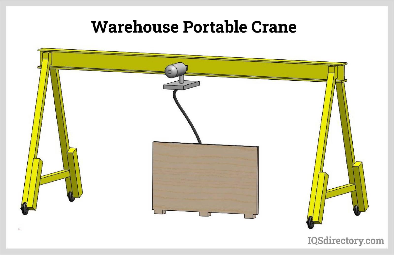 Warehouse Portable Crane