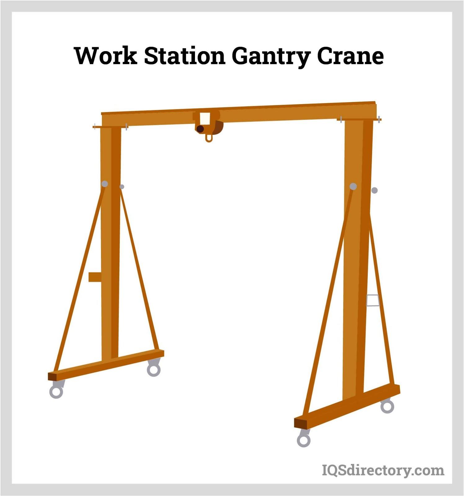Work Station Gantry Crane