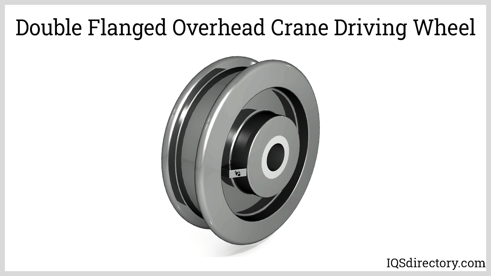 Double Flanged Overhead Crane Driving Wheel