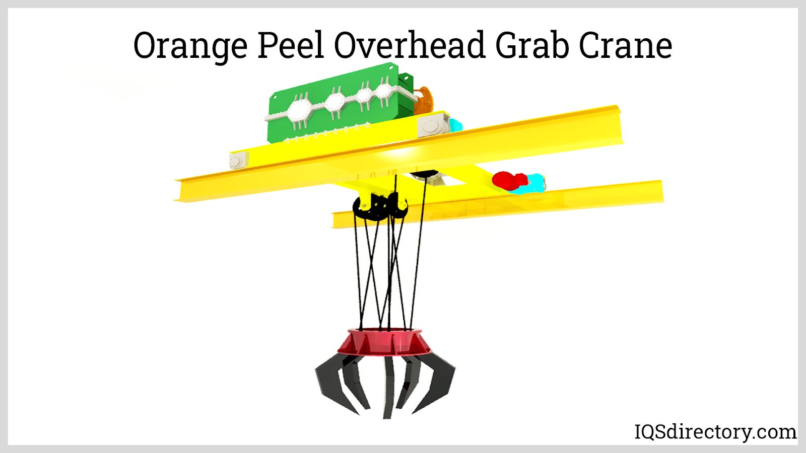 Orange Peel Overhead Grab Crane