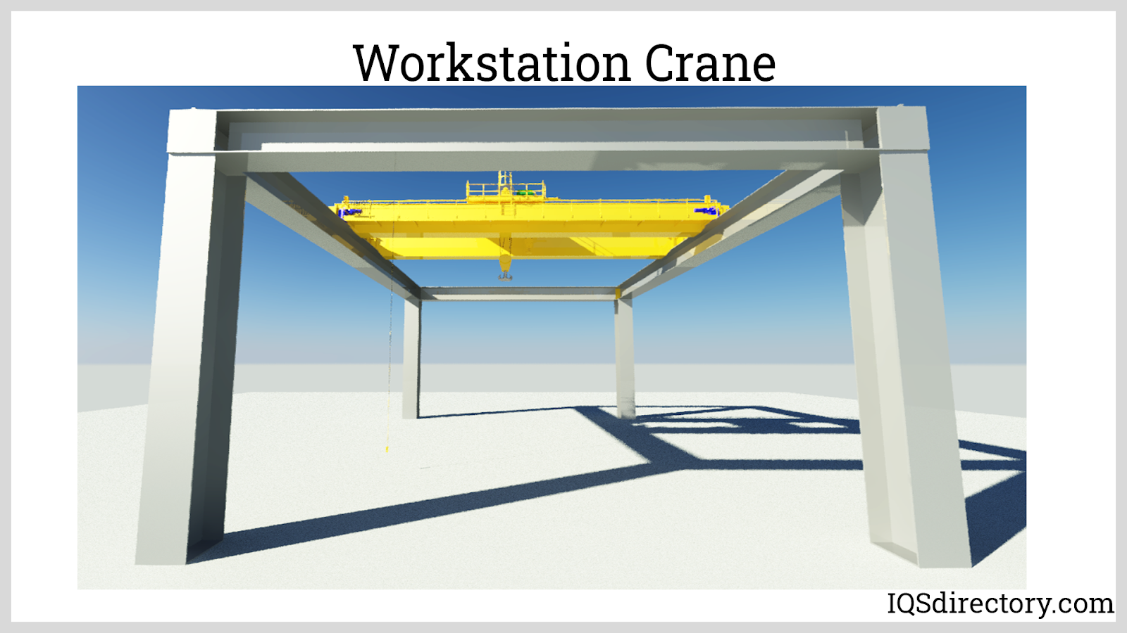 Automated Overhead Crane for Smelt Feeding