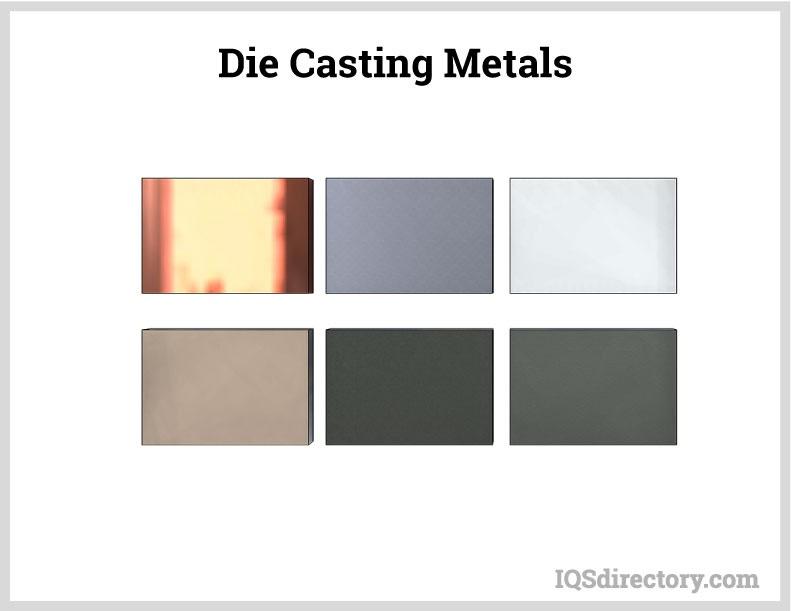 Die Casting Metals