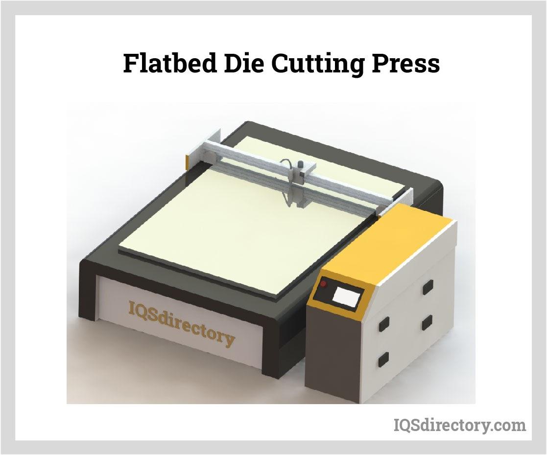 Flatbed Die Cutting Press