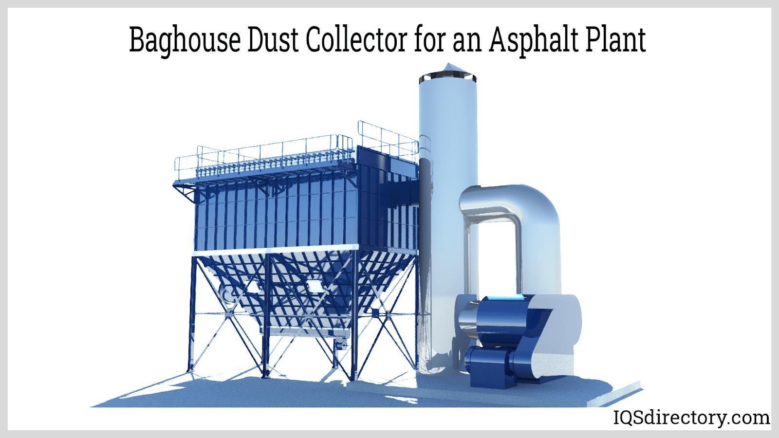 Baghouse Dust Collector for an Asphalt Plant