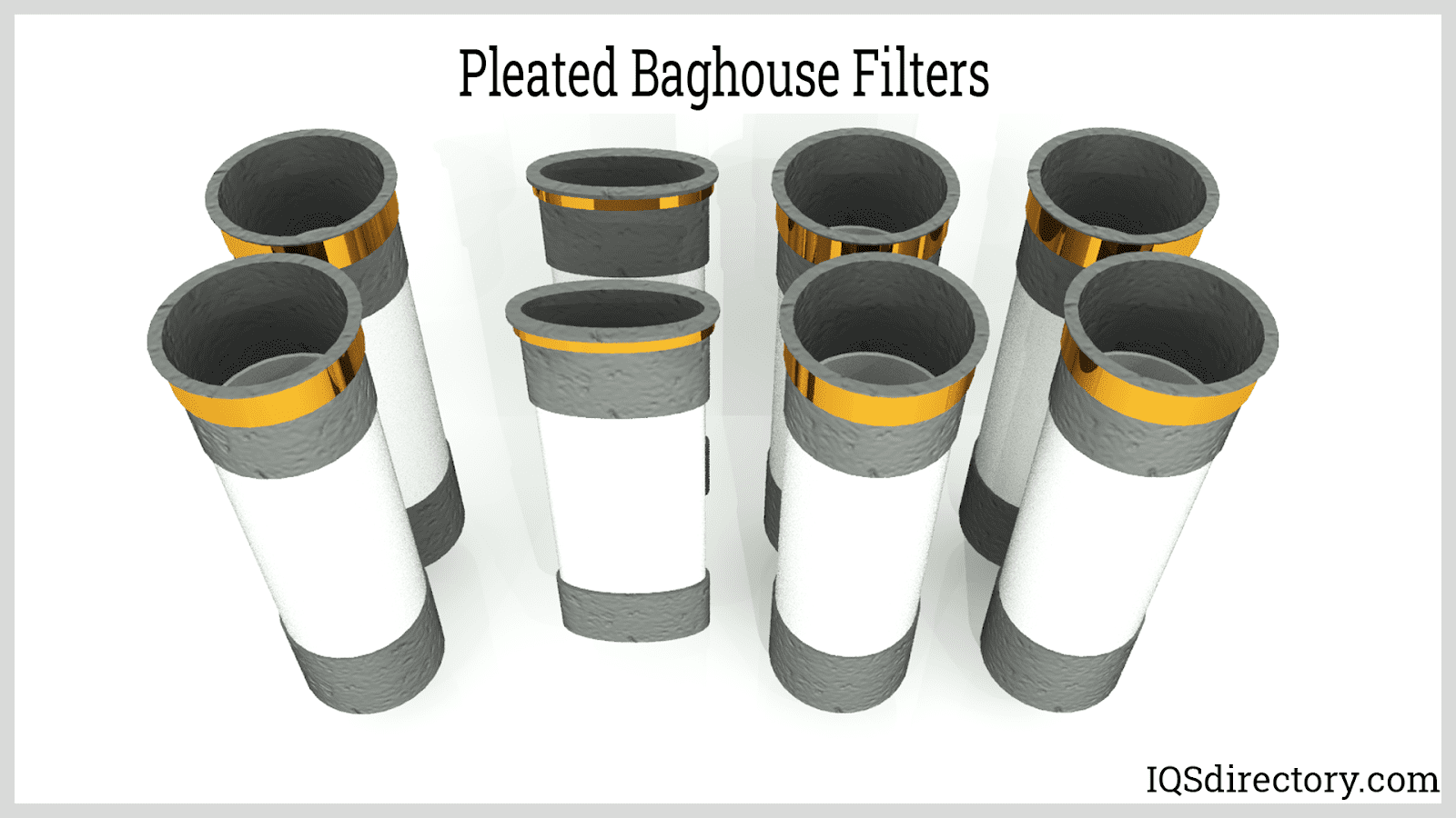 Pleated Baghouse Filters