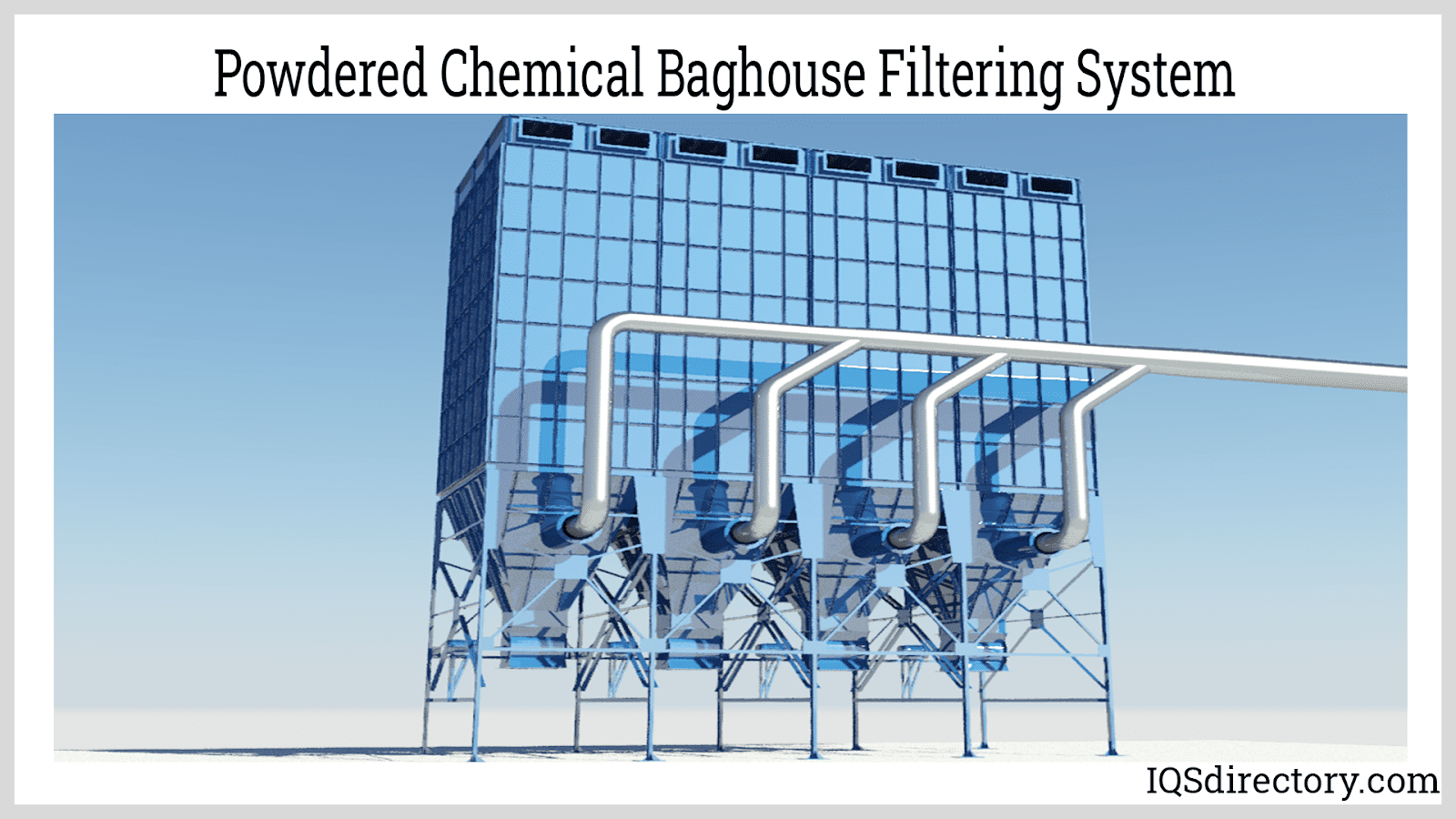 Powdered Chemical Baghouse Filtering System