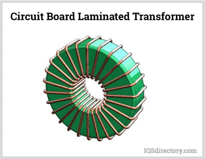 Circuit Board Laminated Transformer