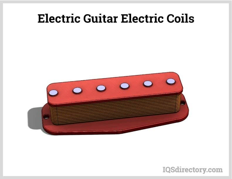 Electric Guitar Pickup Coil