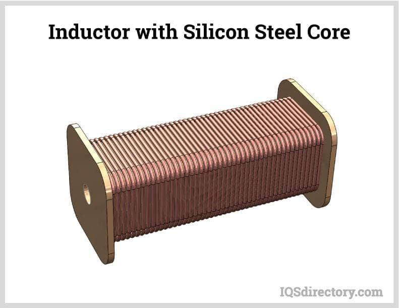 Inductor with Silicon Steel Core
