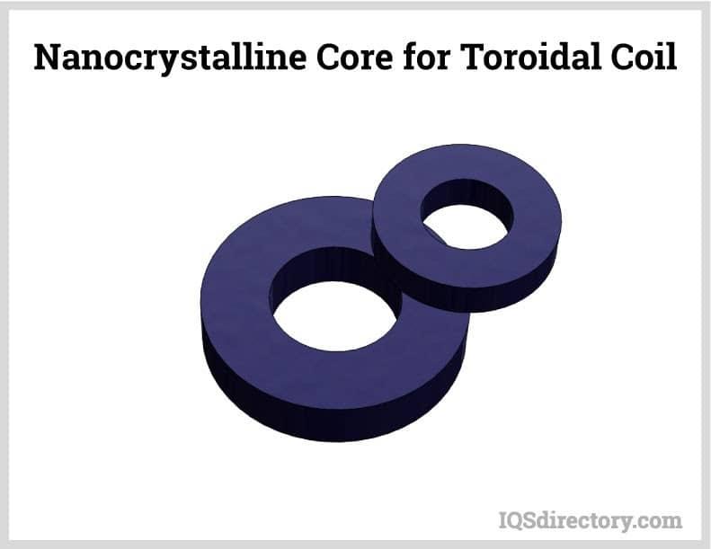 Nanocrystalline Core for Toroidal Coil