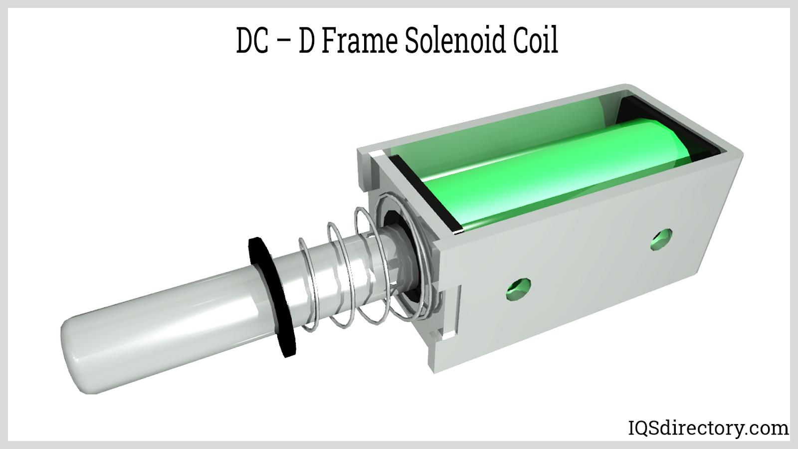 DC  D Frame Solenoid Coil