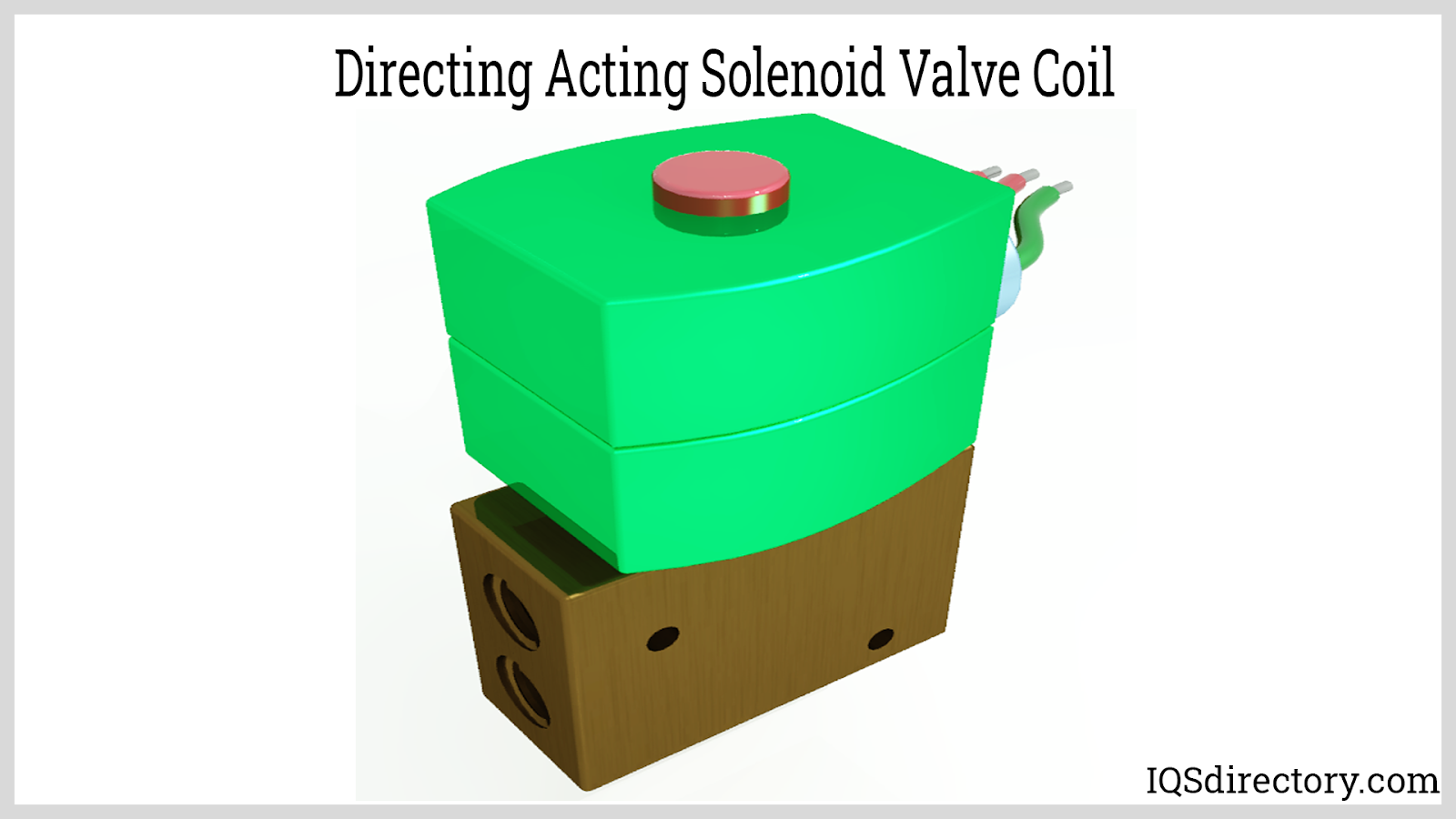 Directing Acting Solenoid Valve Coil
