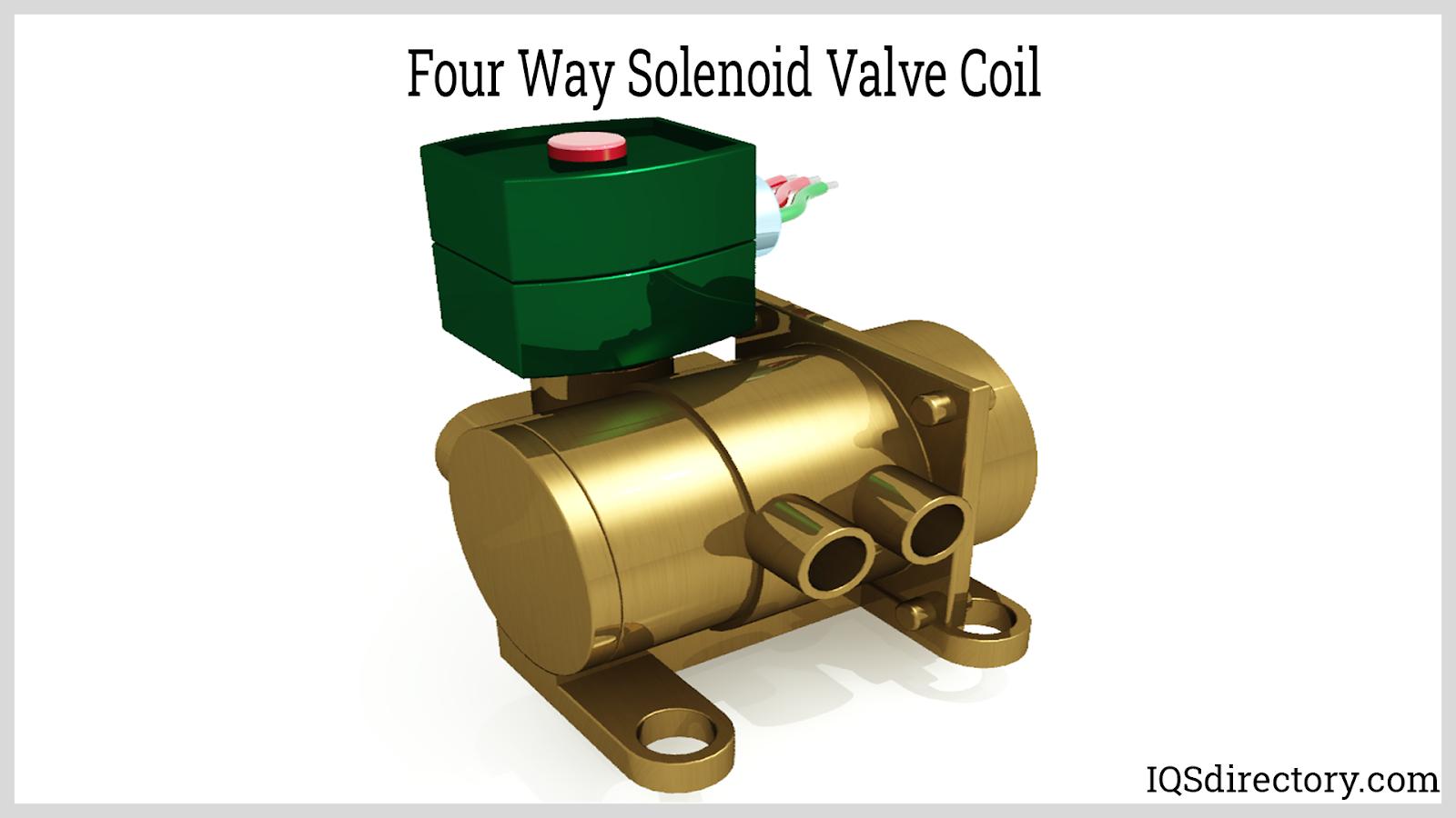 Four Way Solenoid Valve Coil