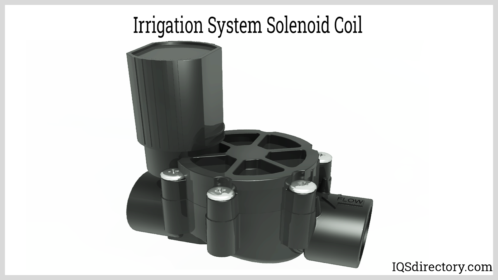 Irrigation System Solenoid Coil