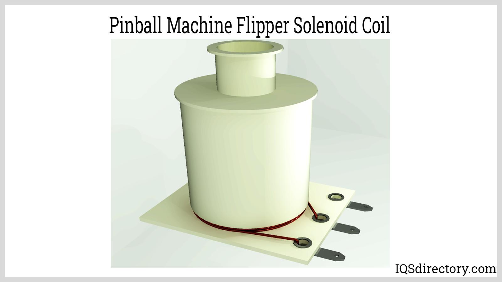 Pinball Machine Flipper Solenoid Coil