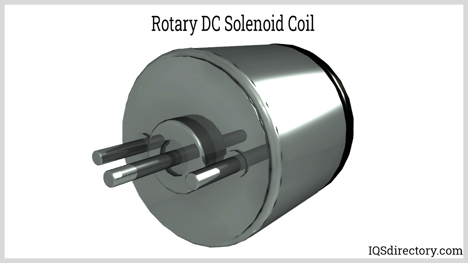 Rotary DC Solenoid Coil