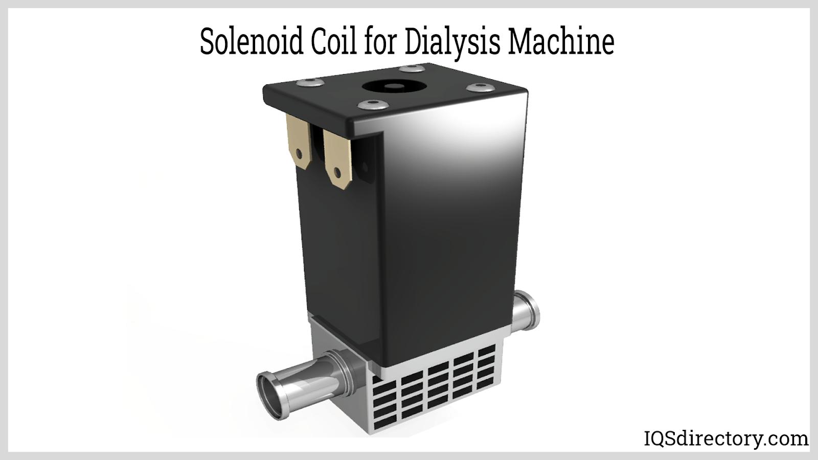 Solenoid Coil for Dialysis Machine