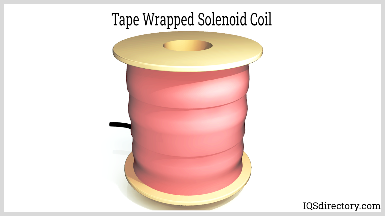Tape Wrapped Solenoid Coil