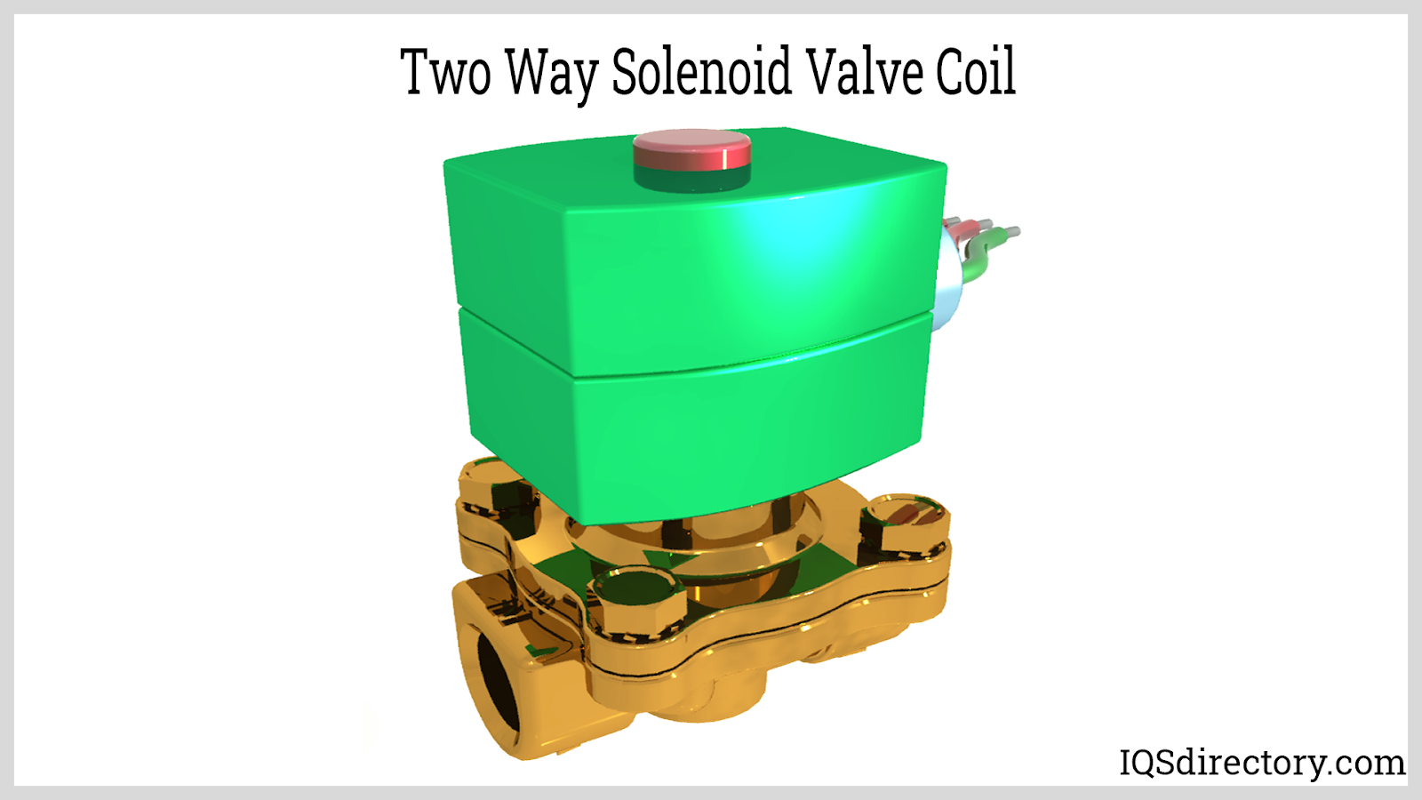 Two Way Solenoid Valve Coil