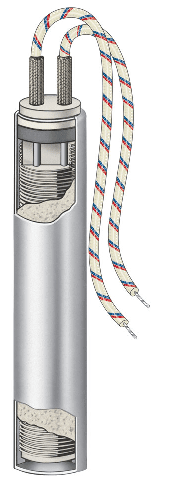 Cartridge Heater with 321 Stainless Steel Sheath