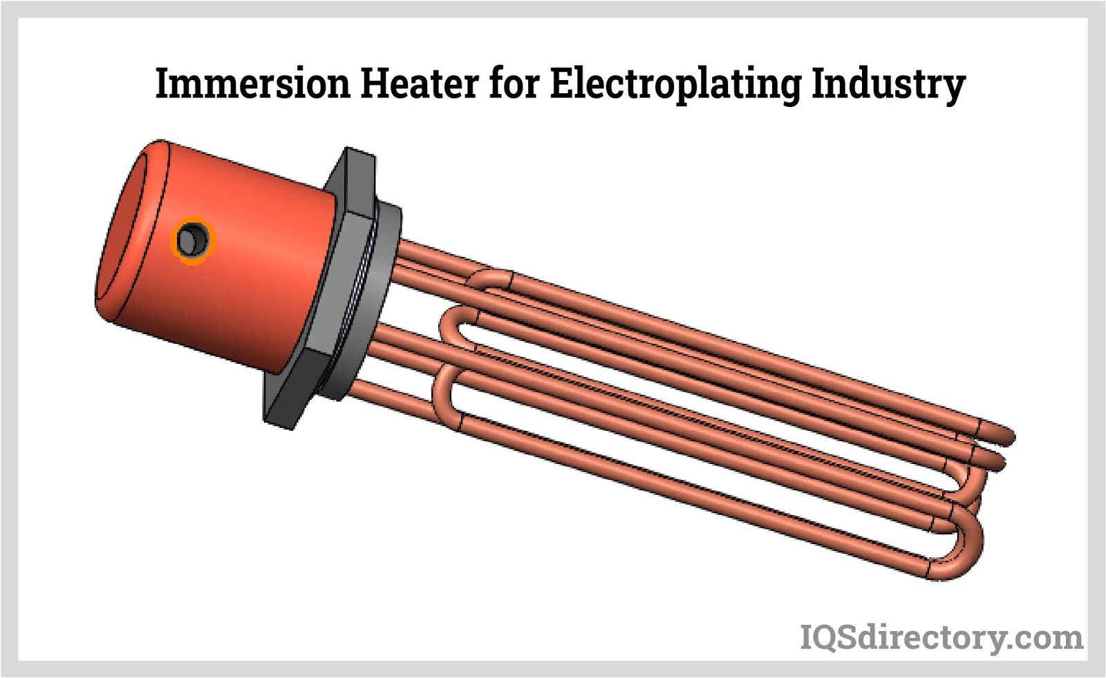 Immersion Heater for Electroplating Industry