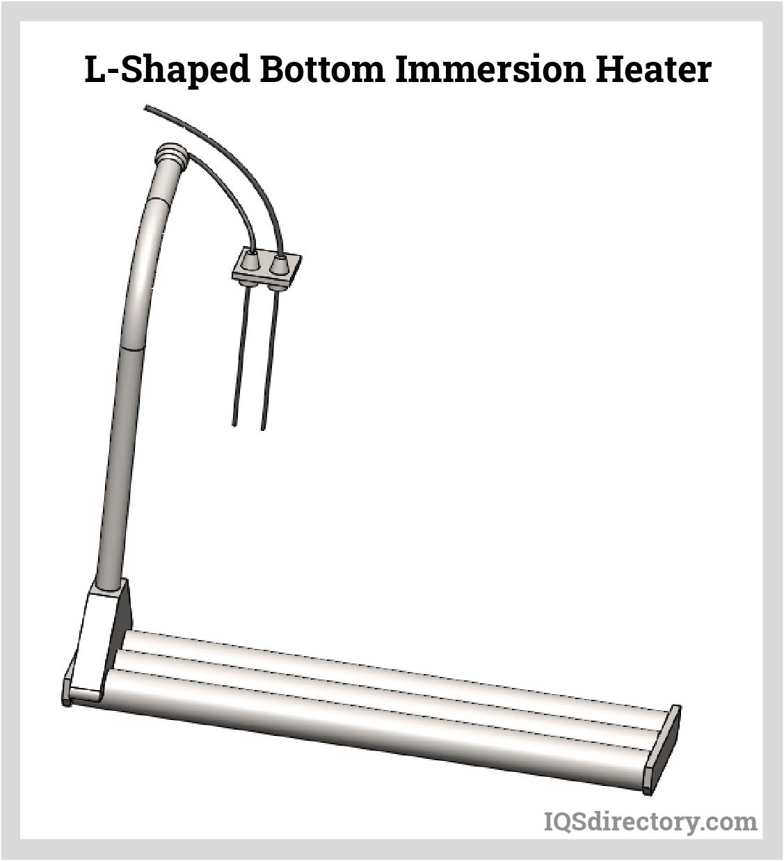 L-Shaped Bottom Immersion Heater
