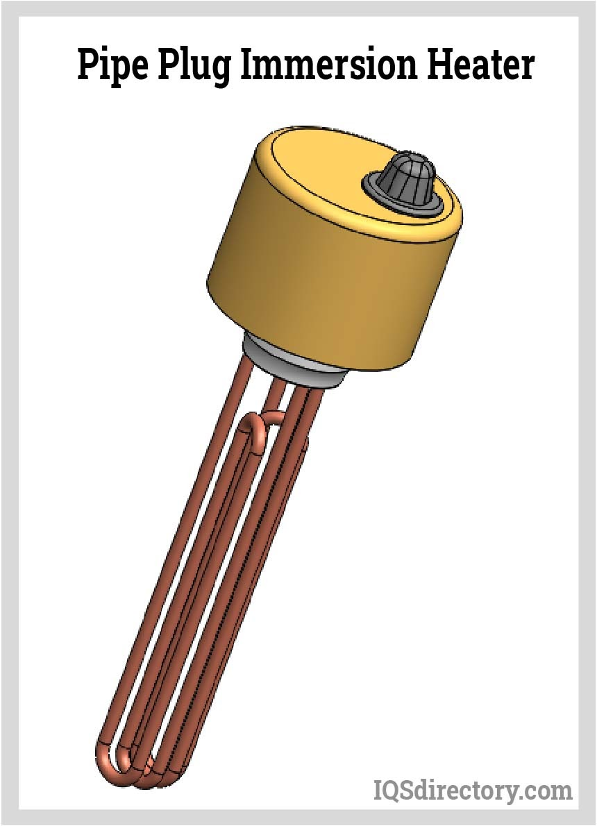 Pipe Plug Immersion Heater