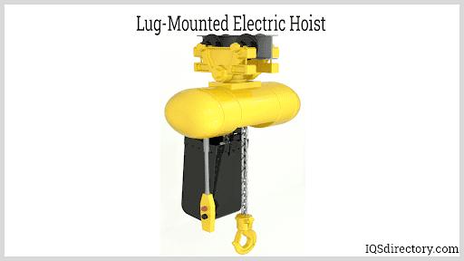 Lug-Mounted Electric Hoist