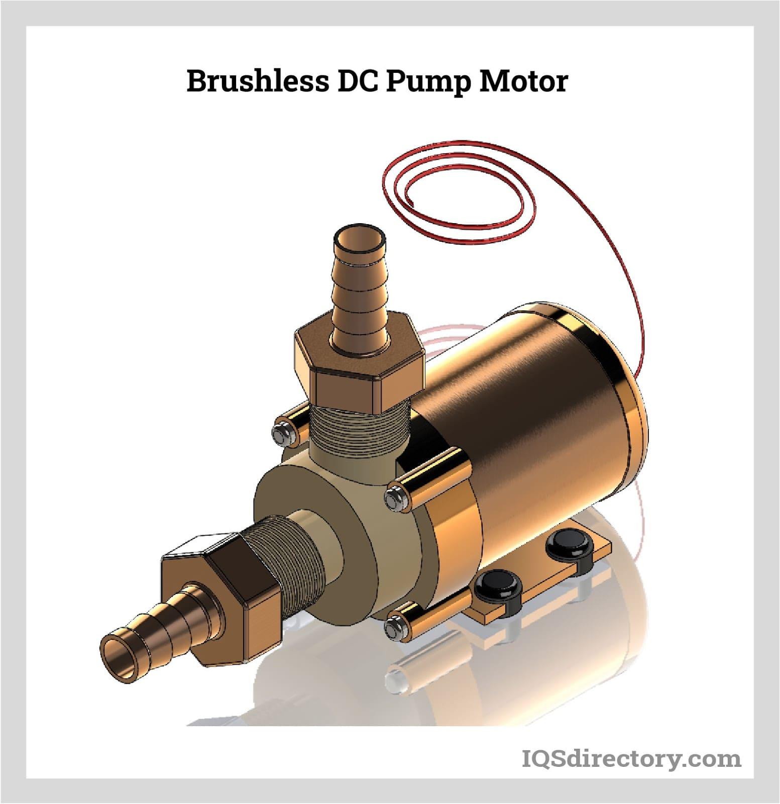 Brushless DC Pump Motor