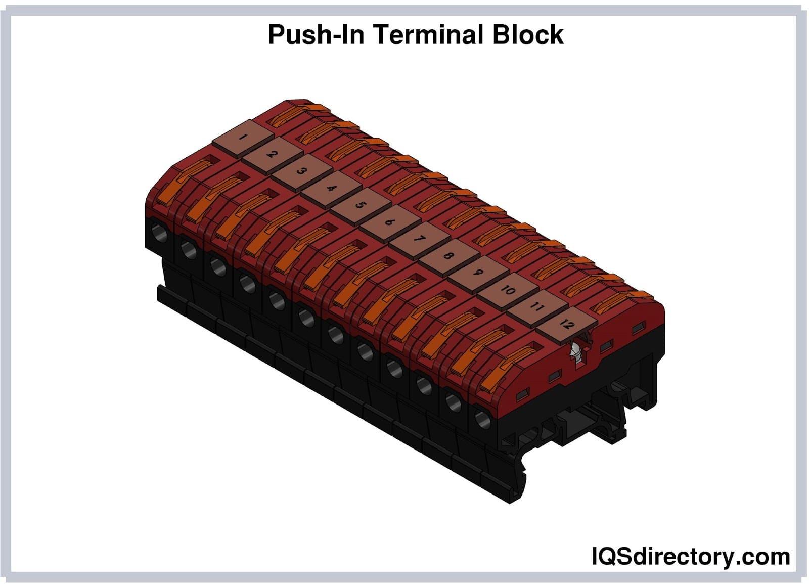 Push-In Terminal Block