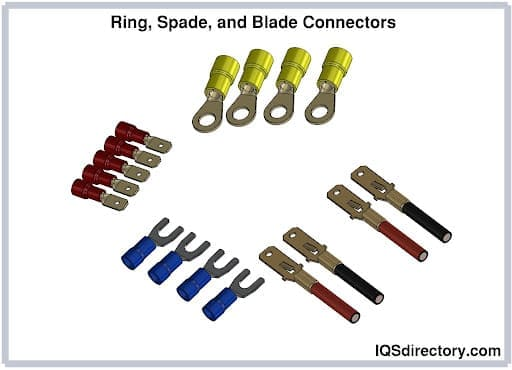 Ring, Spade, and Blade Connectors